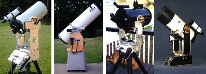 Make an Alt-Az Pipe Mount - Telescope Reviews and Classifieds