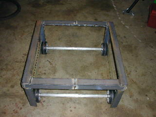the base is built from 1 3 4 x 1 4 angle iron all the angle